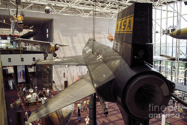Photograph - Classics At Air And Space Museum In Washington Dc by William Kuta