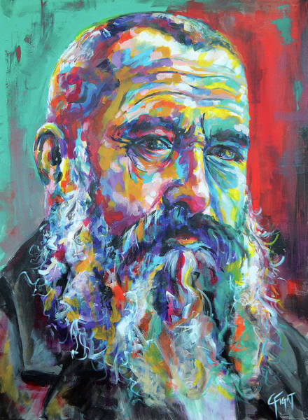 Wall Art - Painting - Claude Monet by Chris Figat