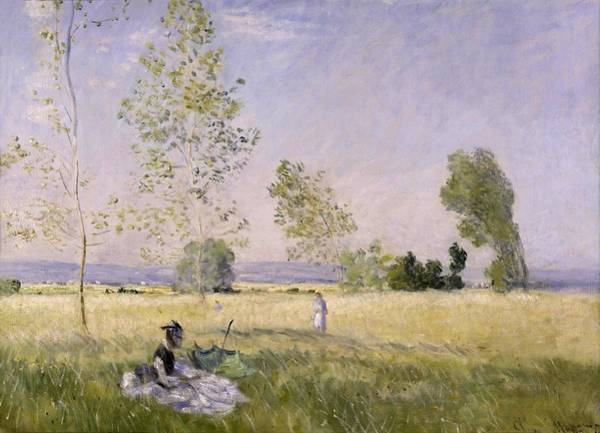 Wall Art - Painting - Claude Monet French, 1840-1926, Summer 1874 by Celestial Images