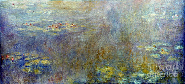 Photograph - Claude Monet: Waterlilies by Granger