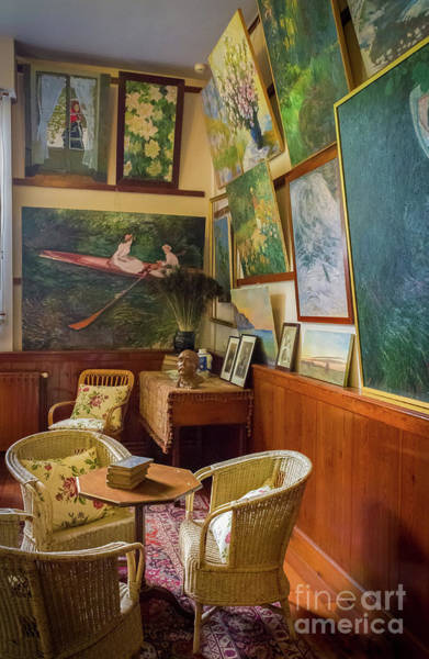 Claude Monet Photograph - Claude Monet's Art Studio In Giverny, France by Liesl Walsh
