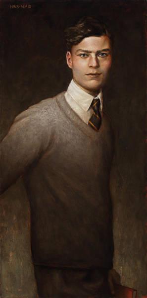 Painting - Claus Von Stauffenberg C. 1925 by Harry Steen