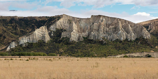 Photograph - Clay Cliffs Omarama by Gary Eason