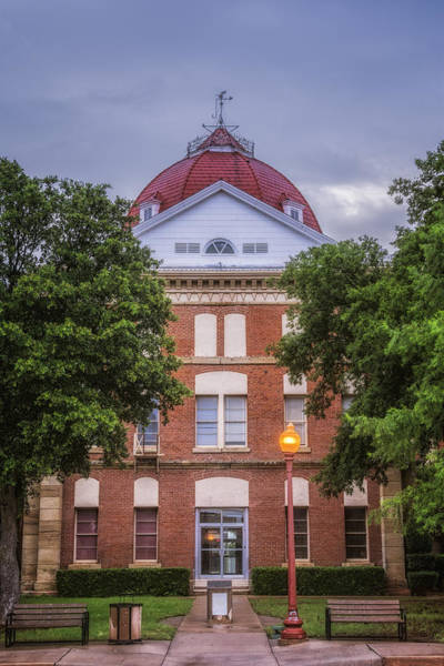 Photograph - Clay County Courthouse by Joan Carroll