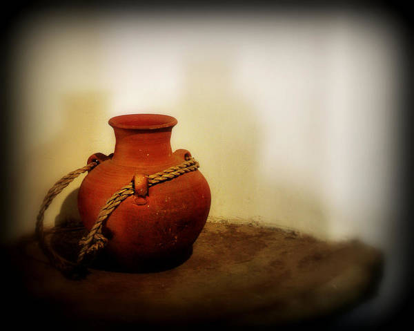 Wall Art - Photograph - Clay Pot by Perry Webster