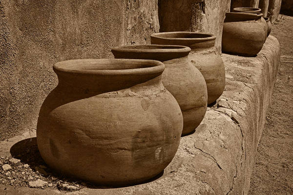 Photograph - Clay Pots At Tumaca'cori Tnt by Theo O'Connor