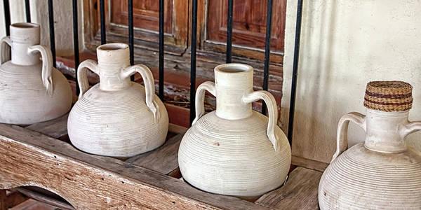 Photograph - Clay Pots by Tatiana Travelways