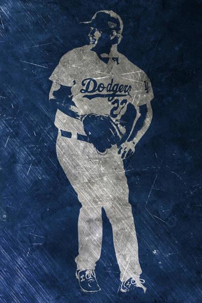 Clayton Kershaw Los Angeles Dodgers Art Art Print