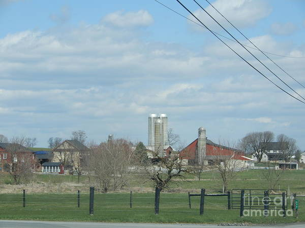 Photograph - Clear April Days In The Farmland by Christine Clark
