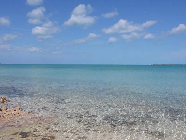 Photograph - Clear Bahama Blue by Karen J Shine