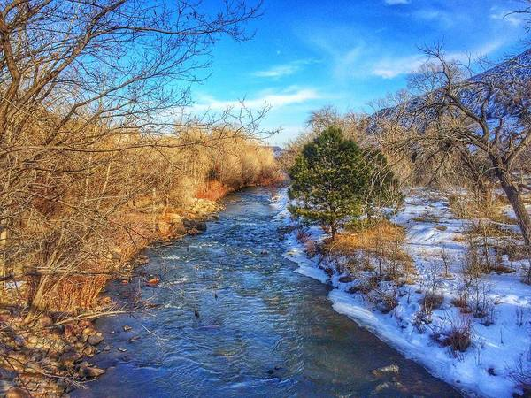 Photograph - Clear Creek by Dan Miller