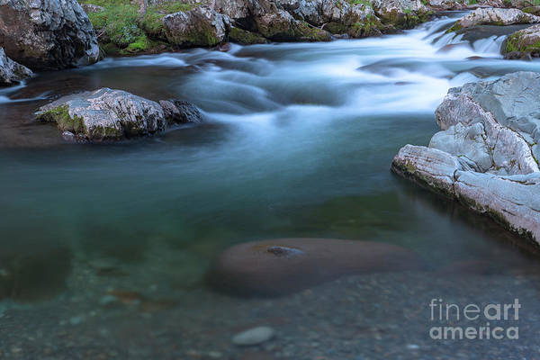 Photograph - Clear Flow by Richard Sandford