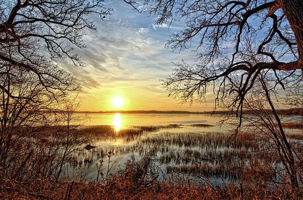 Clear Lake Sunrise 3 Art Print