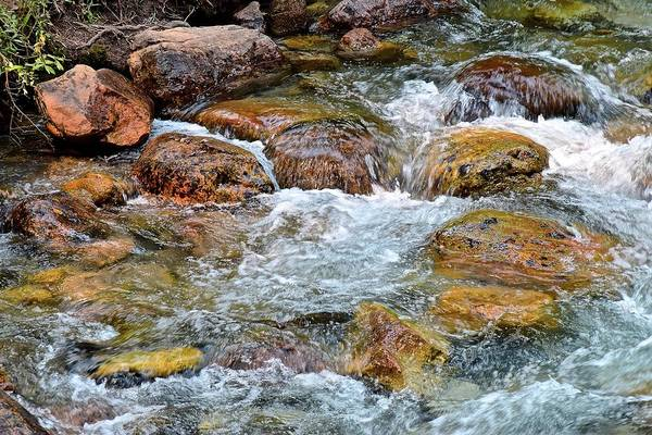 Wall Art - Photograph - Clear Mountain Stream by Frozen in Time Fine Art Photography