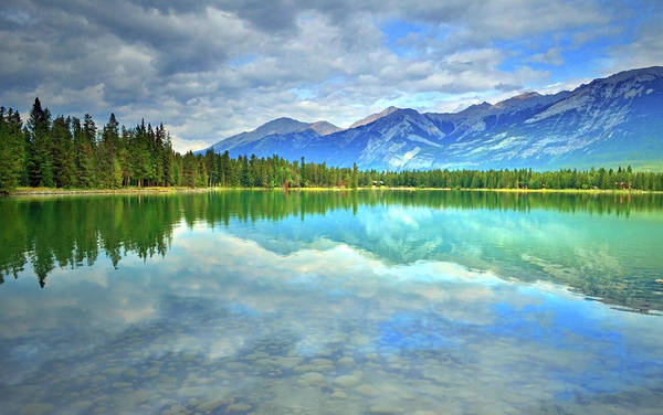 Photograph - Clear Waters At Lake Annette by Tara Turner