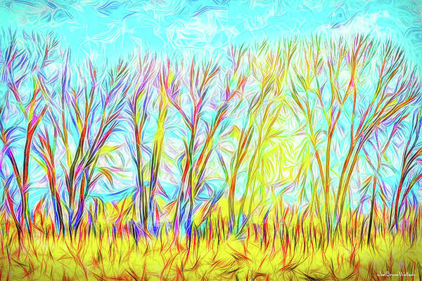 Digital Art - Clear Winter Sunrise by Joel Bruce Wallach