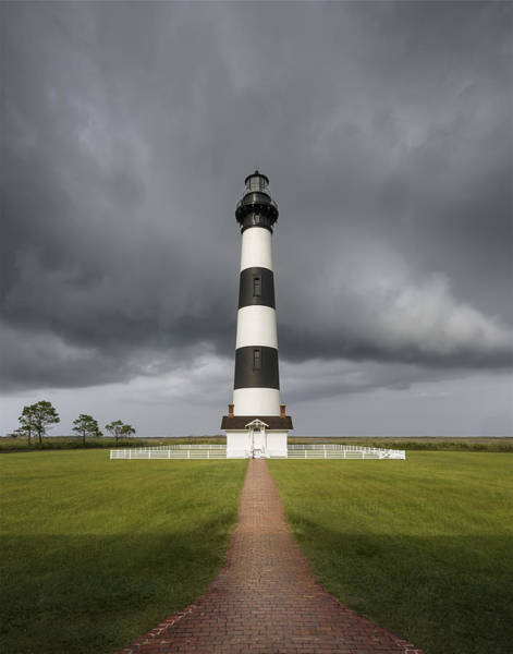 Wall Art - Photograph - Clearing Storm At The Lighthouse by Eduard Moldoveanu