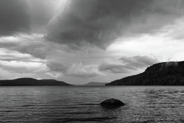 Kingfisher Tower Photograph - Clearing Storm, Lake Otsego by Jeff Kantorowski