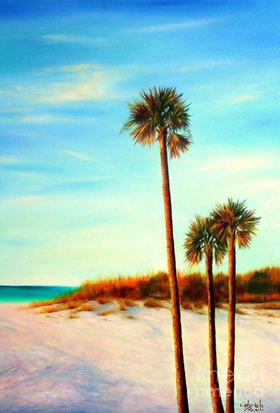 Wall Art - Painting - Clearwater Beach by Gabriela Valencia