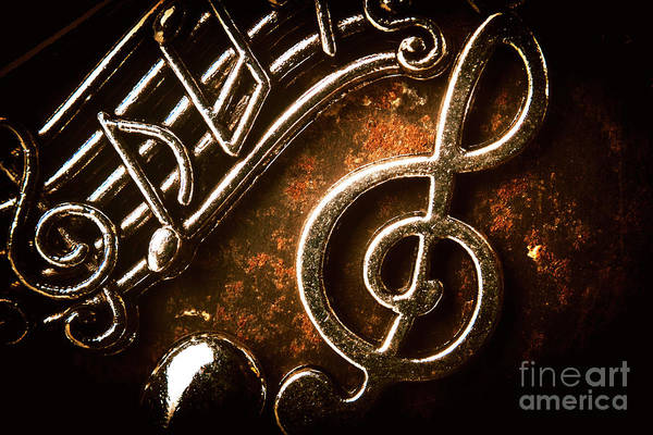 Symbol Photograph - Clef Concert by Jorgo Photography - Wall Art Gallery