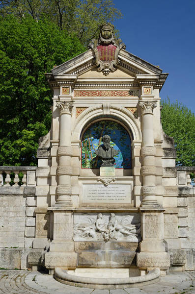 Photograph - Clement Marot Fountain In Cahors France by RicardMN Photography