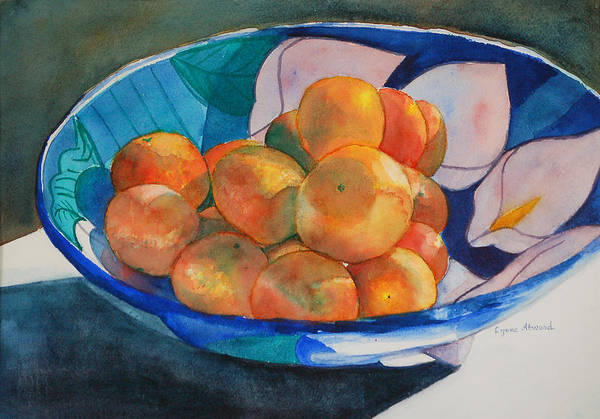 Painting - Clementines by Lynne Atwood