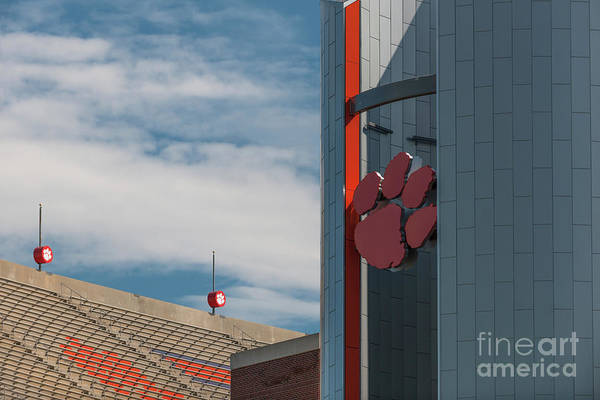 Photograph - Clemson Game Day Memories by Dale Powell
