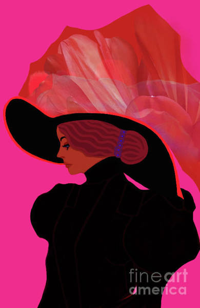 Merode Digital Art - Cleo De Merode,the Celebrity Icon by Liliana Pop Schroffel