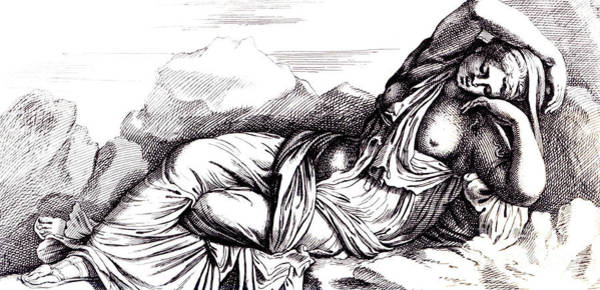Goddess Drawing - Cleopatra Taken To Rome In Triumph By Augustus by Francois Perrier