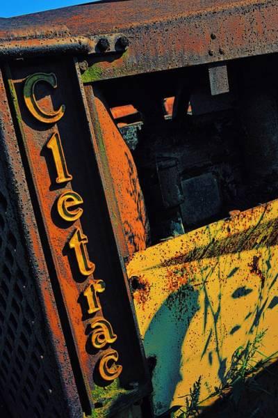 Dozer Photograph - Cletrac Crawler Tractor by Michelle Calkins