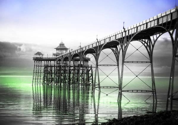 Bristol Channel Photograph - Clevedon Pier by Alex Hardie