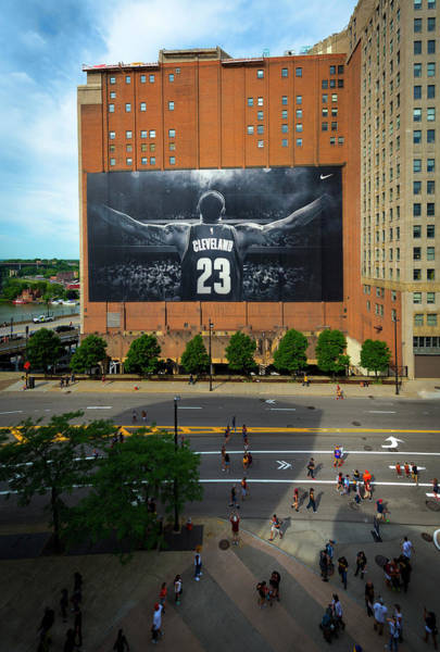 Photograph - Cleveland Cavaliers Championship Parade 2017 by Matt Shiffler