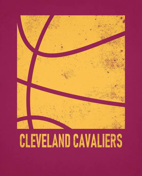 Wall Art - Mixed Media - Cleveland Cavaliers City Poster Art 2 by Joe Hamilton