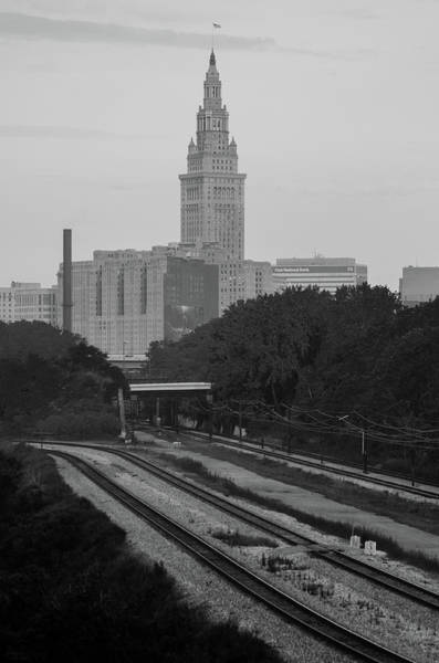 Photograph - Cleveland Rails by Stewart Helberg