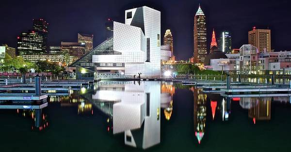 Wall Art - Photograph - Cleveland Shinning Bright by Frozen in Time Fine Art Photography