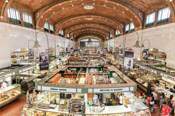 Photograph - Cleveland Westside Market  by Lon Dittrick