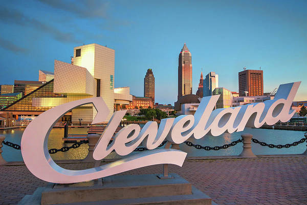 Photograph - Cleveland's North Coast by Brent Durken