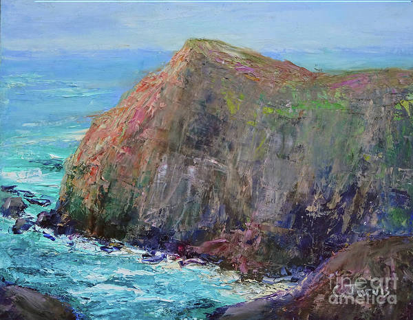 Painting - Cliff by Carolyn Jarvis