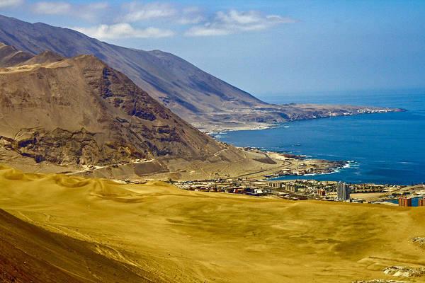 Arica Photograph - Cliff Hanger by Caroline Walker