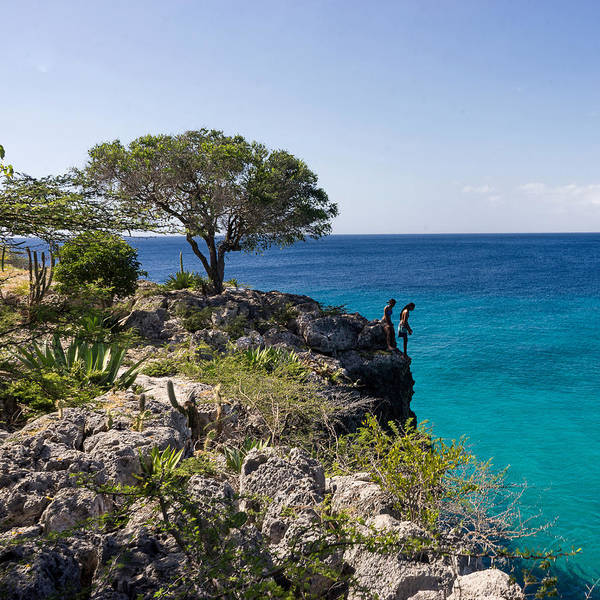 Photograph - Cliff Jumpers At Playa Jeremi by For Ninety One Days