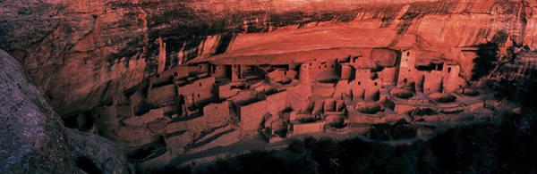 Pueblo Photograph - Cliff Palace Mesa Verde National Park by Panoramic Images