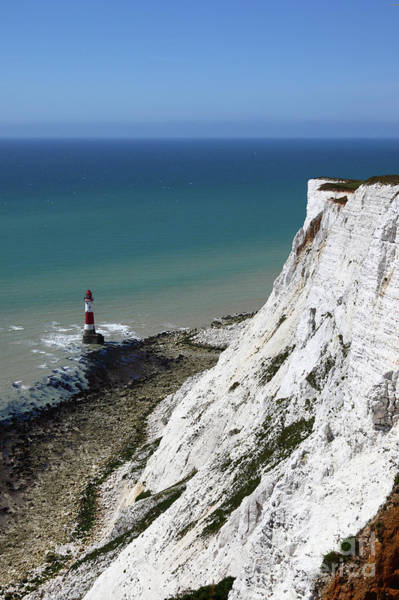 Photograph - Cliffs At Beachy Head East Sussex by James Brunker