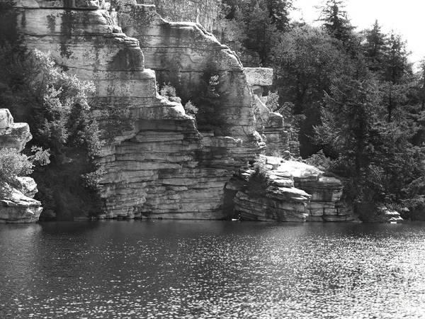 Photograph - Cliffs At Lake Minnewaska Photograph by Kristen Fox
