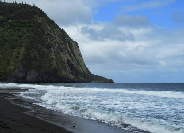Photograph - Cliffs Meet The Ocean by Pamela Walton