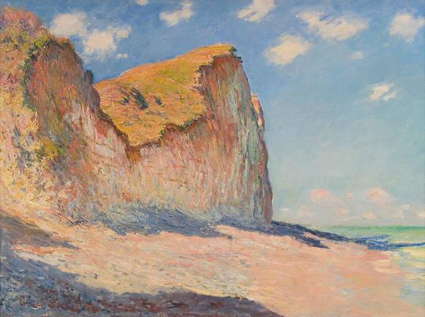 Painting - Cliffs Near Pourville by Claude Monet
