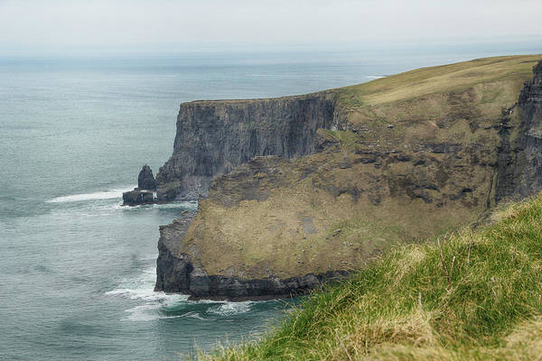 Photograph - Cliffs Of Moher 1 by Marie Leslie
