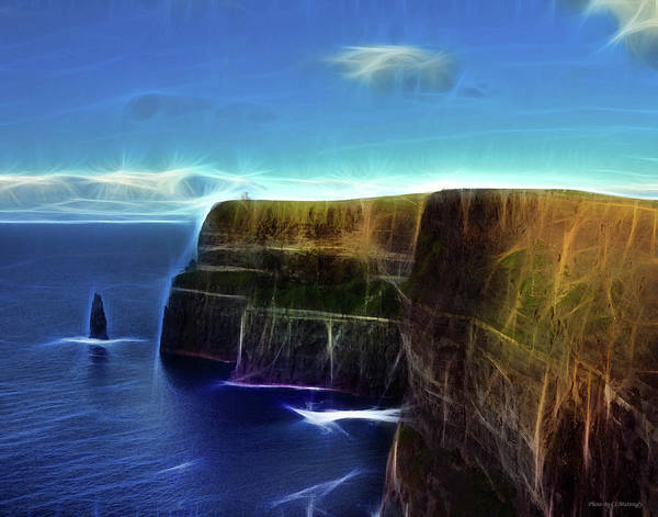Photograph - a View of Cliffs of Moher by Coleman Mattingly