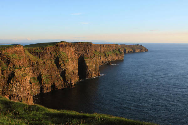 Photograph - Cliffs Of Moher In County Clare At Sunset by Aidan Moran