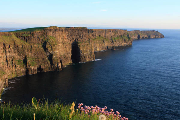 Moher Photograph - Cliffs Of Moher In Evening Light by Aidan Moran