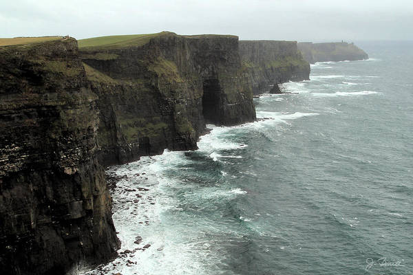 Moher Photograph - Cliffs Of Moher by Joe Bonita